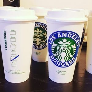 Other - LA Dodgers Starbucks Travel Coffee Cup